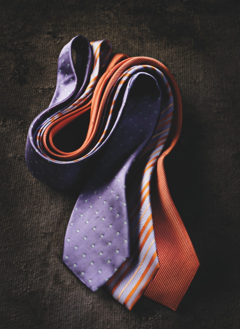 Colorful neckties --- Image by © Andreas Hirsch/Corbis